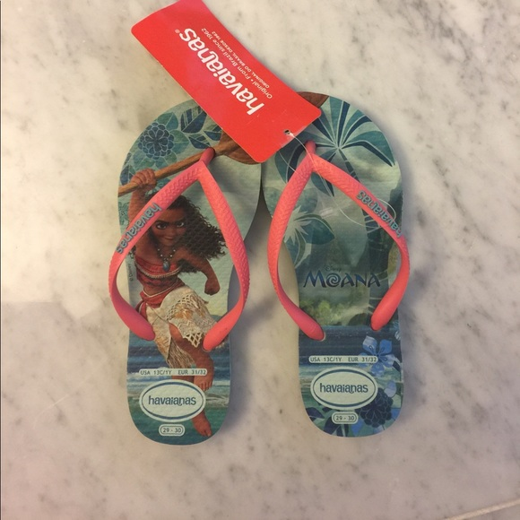 30c9627829ec Girl s Havaianas Moana Flip Flops